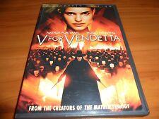 V For Vendetta (DVD, 2006, Widescreen) Natalie Portman,Hugo Weaving Used