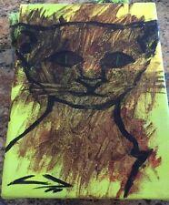 Ugly Cat Painting from Ulises Baine, Acrylic, Signed, 2012