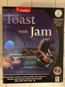 Roxio Toast With Jam,Advanced Sound Editing And Mastering For Mac (1994-2002)