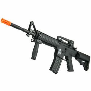 Lancer Tactical Gen2 SOPMOD M4 RIS AEG Airsoft Rifle + Battery/Charger LT-04B-G2