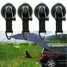 SUP Suction Cup Tie Downs Suction Mount Car Side Awning - Pack of 2 ,4