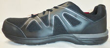 """DEXTER WORK """"Muscle Low"""" Men's Steel Toe Sneakers Shoe 172549, Black, Sz 8, NEW"""