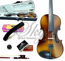 1/8 Size Violin w Case Bow Shoulder Rest, Mute  *GREAT GIFT PACKAGE*