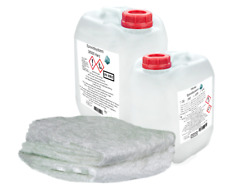 SET-GFK Bootsreparatur:1kg 2K Epoxidharz+2m² Glasmatte 600 g/m² KFZ-Reparatur