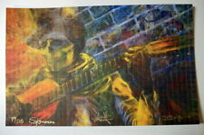 GRATEFUL DEAD -CROSSROADS REMIX - BLOTTER PRINTS - RICHARD BIFFLE - SOY INK