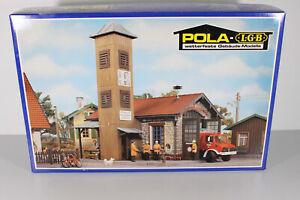 Pola 992 Spur G LGB Feuerwehrhaus Bausatz OVP geöffnet, ungebaut (S59)