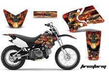 Dirt Bike Graphics Kit Decal Wrap For Yamaha TTR90 TTR90E 2000-2007 FIRESTORM K