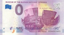 Musée Slovak National Uprising Slovaquie EEAA 2018 zéro € 0-EURO-fictif O Note