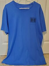 Men'S Under Armour Loose Fit Heatgear Short Sleeve Tshirt, Blue, Sz. Xl - Euc