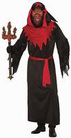 Demon Master Adult Mens Costume Standard Size NEW Devil Satan Robe Mask