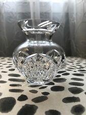 """Small Crystal Bud Vase 4.25"""""""