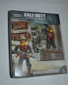 MEGA CONSTRUX CALL OF DUTY WWII WEAPON CRATE GCN92 VHTF !!