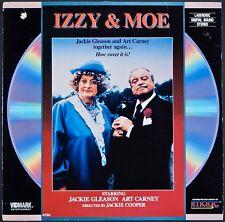 IZZY & MOE Jackie Gleason Art Carney RARE LASER DISC