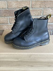 Doc Dr Martens Vintage Steel Toe cap Ankle Boot SATRA P9425  MADE IN ENGLAND VGC