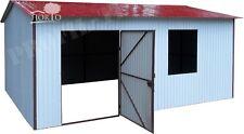 3,5X2 RAL 9010&3011  Schuppen Blechgarage Garage Fertiggarage Metallgarage