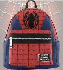 New Loungefly Disney Marvel Avengers Spiderman Suit Mini Faux Leather Backpack