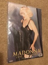 Vintage 1991 Madonna Calendar Danilo Rock Express from UK NEW In Plastic