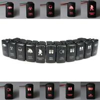 LED Fog Light Bar Push Switch For Toyota Landcruiser Hilux Prado 120 FJ   +