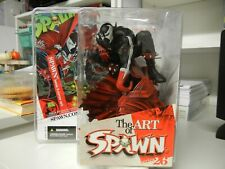 Spawn Issue 8 Cover Art Figure The Art Of Spawn Series 26 McFarlane Action Toy