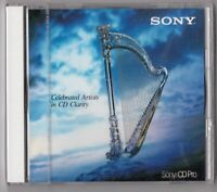 Sony CD demo testical CELEBRATED ARTISTS IN CD CLARITY OVP SEALED made in Japan