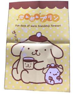Rare Authentic Pompompurin (2016) Medium Sanrio Puppy Poster