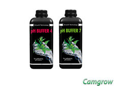 Ph Buffer 4 & 7 Solutions Calibration Pack 1 Litre For Calibrating pH Meters