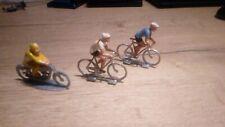 lot figurine plastique plastic figure cycliste motard SODD vintage biker bike