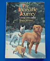 THE INCREDIBLE JOURNEY ~ BURNFORD ~ BURGER ~ VINTAGE HARDCOVER CHILDREN'S BOOK