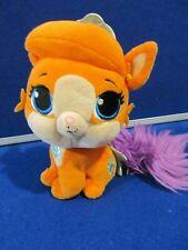 Posh Paws Disney Princess Palace Pals Treasure Orange purple Plush Soft Toy ExC