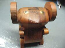 Vintage Koala Bear Coin Bank Artigiano Crafted w/ Movable Eyes Nice