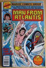 Marvel Classic Comics, Man From Atlantis #1 1978  Great Condition