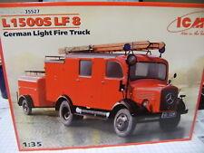ICM 35527 1:35 Mercedes L1500S LF8 German Fire Truck NEU OVP