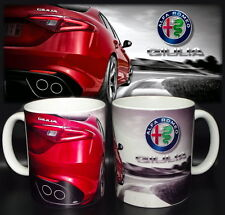 tazza mug alfa romeo ALFA GIULIA NEW sport car scodella ceramica