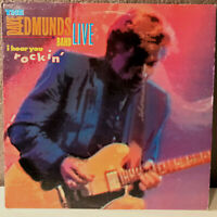 "THE DAVE EDMUNDS BAND - Live I Hear You Rockin' - 12"" Vinyl Record LP - EX"