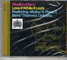 (FP675) Modern Disco, Love It While It Lasts - Ministry of Sound sealed CD