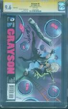 Grayson 5 CGC SS 9.6 Darwyn Cooke Signed Top 1 Variant Movie Batman no 8