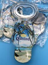 4 Corona Sandal Flip Flop Refrigerator Magnet Beer Promo Bottle Opener Key Chain