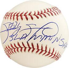 "SAMMY SOSA AUTOGRAPHED SIGNED MLB BASEBALL CHICAGO CUBS ""SLAMMIN SAMMY"" 177578"