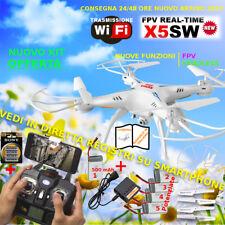 Drone SYMA X5SW FPV HEADLESS android apple smartphone drone WiFi foto video HD+