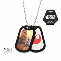Star Wars VII: The Force Awakens Chewbacca Stainless Steel Dog Tag Necklace