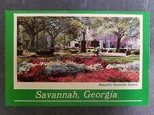 "Savannah, Georgia ""Beautiful Reynolds Square"" Postcard"