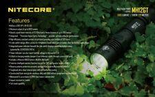 NEW NITECORE MH12GT 1000 Lumen Flashlight WITH 3400 MAH BATTERY(MH12 UPGRADE)