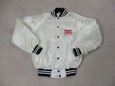 VINTAGE Western Airlines Jacket Adult Medium White Red Airplane Pilot Coat 90s*