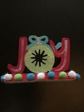 Holiday JOY Decoration Christmas Holiday New