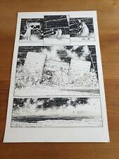 More details for alex ronald 2000ad original art missionary man march 99