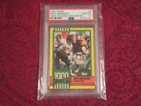 Neal Anderson 1990 Topps #8      PSA  Gem Mint 10   Disclaimer Back