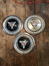 1963 Ford Fairlane Hubcaps With Spinners