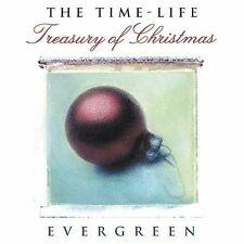 CD Treasury of Christmas Evergreen by Celine Dion Mariah Carey WHAM Time Life