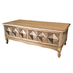 Casamoré Marrakesh Wooden 2 Drawer Coffee Table