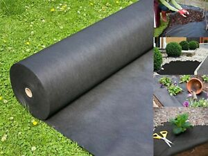 Heavy Duty Weed Control Membrane Garden Ground Landscape Cover Fabric 20M X 1M